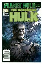 1)INCREDIBLE HULK v2 #104(5/07)PLANET HULK(MIEK/AVENGERS)'NEWSSTAND'(CGC IT)NM!1