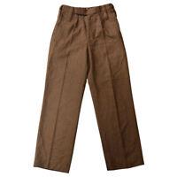 British Army Trousers Brown Khaki No 2 Dress Irish Welsh All Rank Pants Uniform