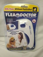New listing Flea Doctor Electrically Charged Flea Comb As Seen On Tv Great for Dogs & Cats