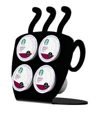 Black 4 K Cup Dispenser Coffee dolce gusto Keurig tree pod holder Acrylic Coffee