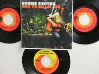 LOT OF 4 ' BOBBIE GENTRY ' HIT 45's+1P(Copy)[ODE TO BILLIE JOE]  THE 60's&70's!