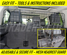 HEAVYDUTY HEADREST CAR MESH PET DOG GUARD BARRIER For Land Rover Discovery 3 & 4