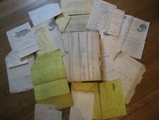 Ledger & Papers from Ludlam Wagon & Carriage Builders, Glen Cove, NY