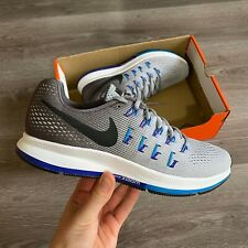 NIKE AIR ZOOM STRUCTURE PEGASUS 33 GREY RUNNING TRAINERS SIZE UK8 US9 EUR42.5