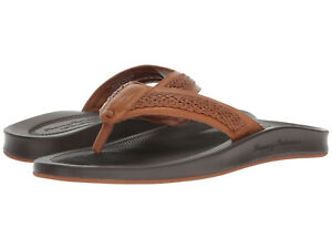 TOMMY BAHAMA SHALLOWS EDGE RELAXOLOGY MEN'S SANDAL TAN NEW WITH BOX