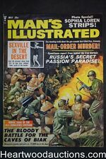 Man's Illustrated May 1964 Sophia Loren, Battle for the Caves at Biak - Ultra Hi