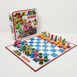 SUPER MARIO Chess - Collector's Edition Board Game *Rare* (Aus Seller)