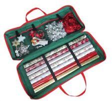 CHRISTMAS XMAS GIFT BIRTHDAY WRAPPING PAPER PRESENT ZIP UP STORAGE ORGANISER