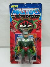 MOTU,VINTAGE,KING HISS,Masters of the Universe,MOC,Unpunched,sealed,He-Man