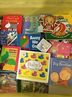 Lot of 20 - Board Books for Children/ Kids/ Toddler Preschool Daycare Random