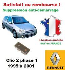 Boitier antidémarrage Supprime l'anti-demarrage des Renault Clio 2 phase 1