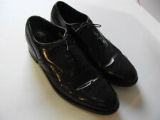 FLORSHEIM ROYAL IMPERIAL MEN'S BLACK WINGTIP OXFORDS #644566 - 10.5 B - EUC