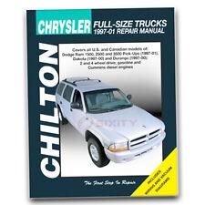 Chilton Repair Manual for 1997-2001 Dodge Ram 2500 - Shop Service Garage ju