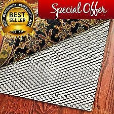 Extra Thick High Quality Premium Area Rug Underpad Rug Pad 8X11 on Hard Flooring