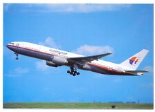 MALAYSIA Airlines Boeing B777-2H6 Postcard 1997
