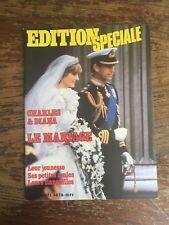 Edition Spéciale, Charles et Diana, Le Mariage