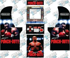 Arcade1up Cabinet Graphic Decal Complete Kits - Mike Tyson's Punch-out!!