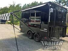 NEW 2021 8.5X12 ENCLOSED CUSTOM CONCESSION MOBILE KITCHEN FOOD VENDING TRAILER