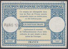 """La France Coupon-réponse international""""; Paris 128'; Coupon-réponse"""