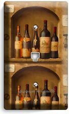 TUSCAN KITCHEN ITALIAN WINE CELLAR BOTTLE PHONE JACK TELEPHONE WALL PLATE COVER