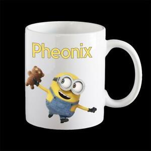 Personalised Minion Bob Coffee Mug, cute minion mug