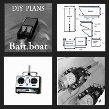 DIY PLANS BUILD YOUR OWN  CARP BAIT BOAT.