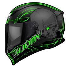 Casco Helmet Integral Motorrad Suomy Speedstar Amlet Verde Tamaño Talla L