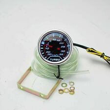 "2"" DIGITAL LED -30PSI TO 35PSI BOOST GAUGE W/ MOUNTING BRACKET + HOUSE 12V DC"