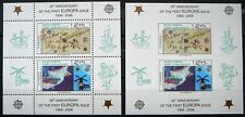 Turkish Rep. of Northern Cyprus Souvenir sheets-EUROPA Stamps 50th Anniv. - MNH.