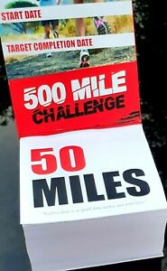 Running Challenge Cube 500 Miles
