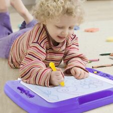 Kids Drawing Board Magnetic Writing Sketch Pad Erasable Magna Doodles children