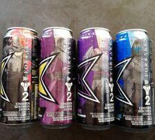 4x Destiny 2 Promo Dosen Energy drink Rockstar Cans Forsaken Limited Edition Set