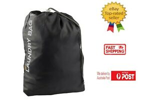 Travel Water Resistant Toiletries Laundry Pouch Storage Bag Gym Sport Camping AU
