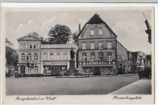 Germany; Burgsteinfurt In Westphalia, Hindenburgplatz PPC Unposted c 1930's
