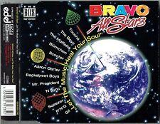"""BRAVO ALL STARS - 5"""" CD - Let The Music Heal Your Soul (3 Trk) Backstreet Boys"""