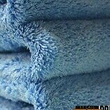 Brand New  Edgeless Blue Microfiber Towel for Polishing, Detailing, and Buffing