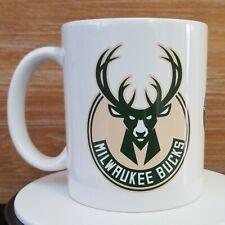 Milwaukee Bucks Mug Cup Taza 11oz Basketball Nba Gift Regalo Souvenir Ceramic