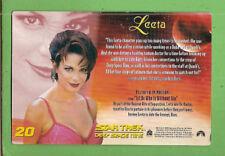 #D411. 1999 WOMEN OF  STAR TREK HOLOGRAM MAXI CARD #20  LEETA