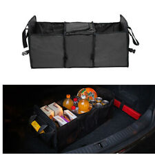 Car Trunk Cargo Storage Bag Foldable Box SUV Grocery Organizer Cooler Van Truck
