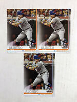 PETE ALONSO LOT OF 3 2019 Topps Update ASG ROOKIE BASE RC's #US47! HUGE SALE!
