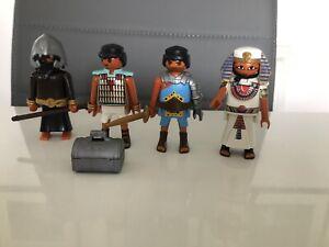 playmobil egyptian figures