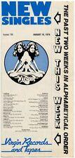 Madness B-52's Brood Fischer-Z Lewis Poco Rafferty Roxy Music Shirts War 3 Guide