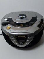 Rare 2001 Sanrio  Badtz Maru AM/FM Radio CD Compact Disc Player Boombox BA52