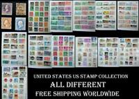 United States US Stamp Collection, All Different, Free Shipping Worldwide