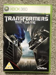Transformers: The Game (Xbox 360) - Game Free Post, home gaming, with manual