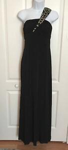 Vintage Calvin Klein Black Formal dress Size 4