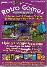 RETRO GAMES COMPENDIUM 10 PC Game Brand New/Sealed!