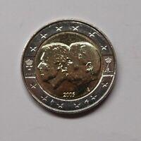Belgien 2005 2 Euro Gedenkmünze Wirtschaftsunion mit Luxemburg (MZ194