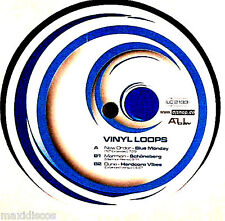 "12"" - VINYL LOOPS VOL. 2 - NEW ORDER - BLUE MONDAY + 2 TECHNO HITS * MINT LISTEN"