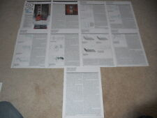 KEF 105/3 Reference Speaker Review, 9 pgs, Full Complete Test, 1991, Best Ever?